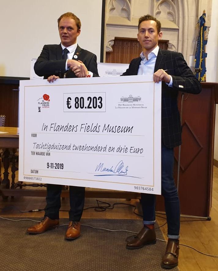 80.203 € récoltés pour l'IFFM à Ypres