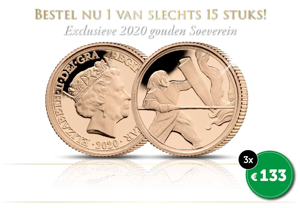 Nieuw ontwerp van deze historische munt!