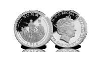 Slag aan de Somme, 1916, Sterling zilver, Eerste Wereldoorlog