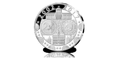 De Officiële uitgifte '15 jaar Euro'