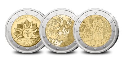 Start van de '2-Euro Herdenkingsmunten' collectie