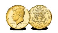 Herdenkingsmunt, Half Dollar, John F Kennedy, 2017