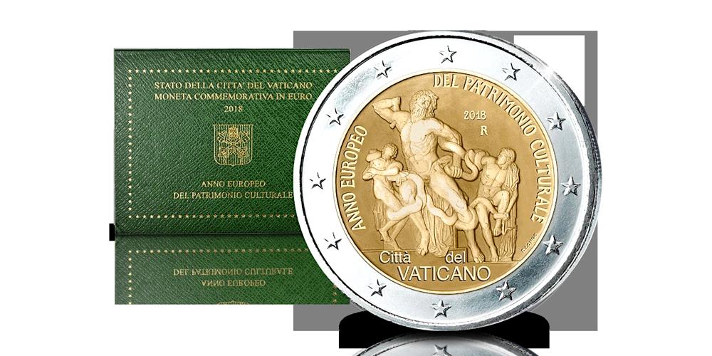 Koop munten online | 2-euro munten | Vaticaanstad 2018