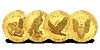 SMART set ter ere van 30 jaar bestaan van de 'American Eagle' munten