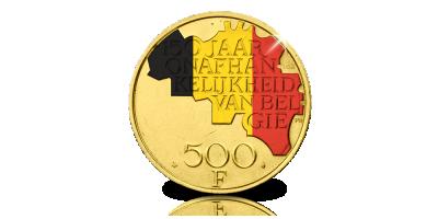 Limited Edition: originele 500 Frank nu verrijkt met luxe edelmetalen