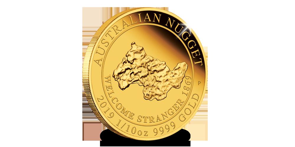 1-10-Oz-Gold-Nugget-2019-voorzijde