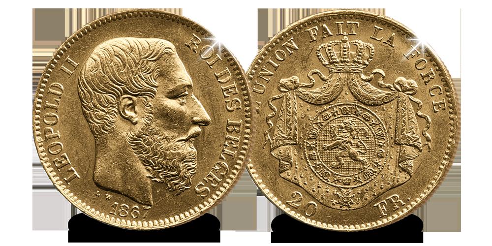 20-frank-1867-Leopold2-vz-kz
