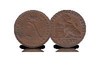 5 centiemen set Albert 1, 1910-1932, 1 centiem