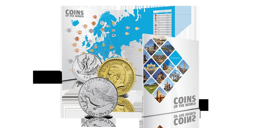 Europa muntpuzzel, Euro's, Complete set