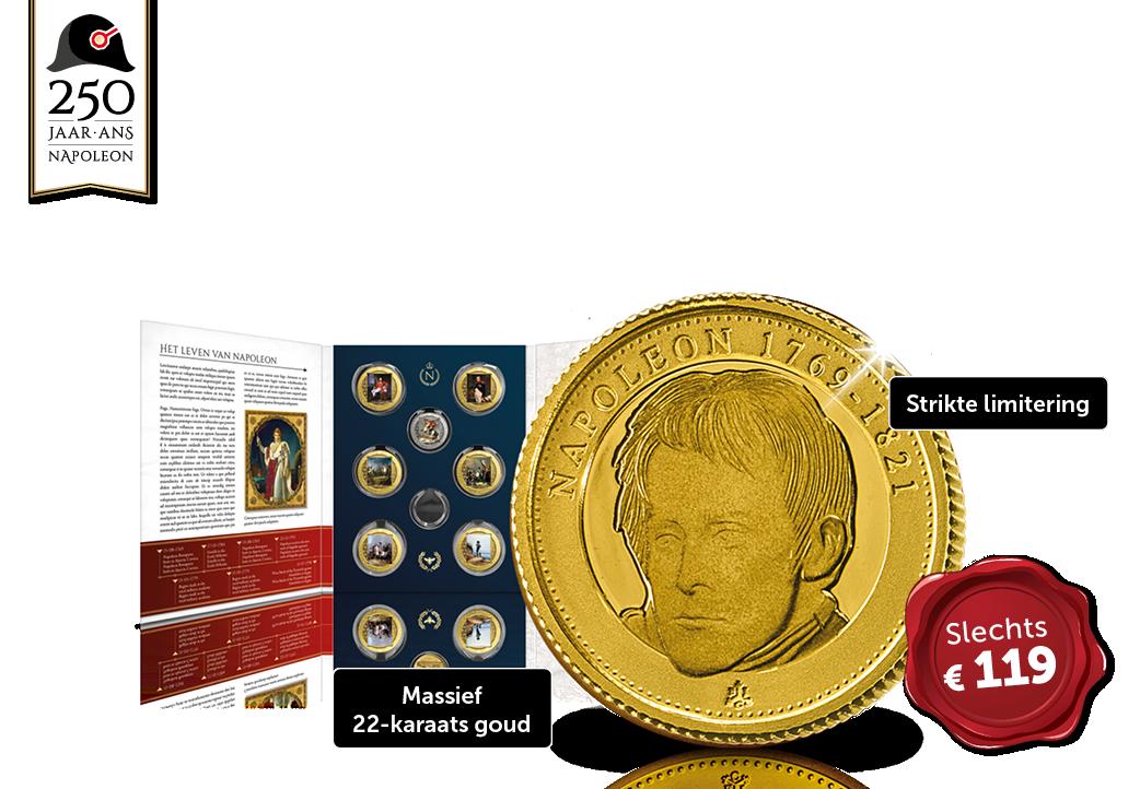 De allereerste 1/16 gouden Guinea ooit!