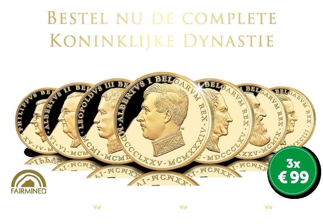 Bestel nu met € 50 korting De complete Koninklijke Dynastie van België
