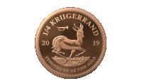 Wapenstilstand Krugerrand 1/4Oz