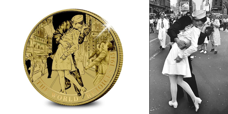 Koop munten online - Gouden munten - De Kus - 31.1 gram puur goud