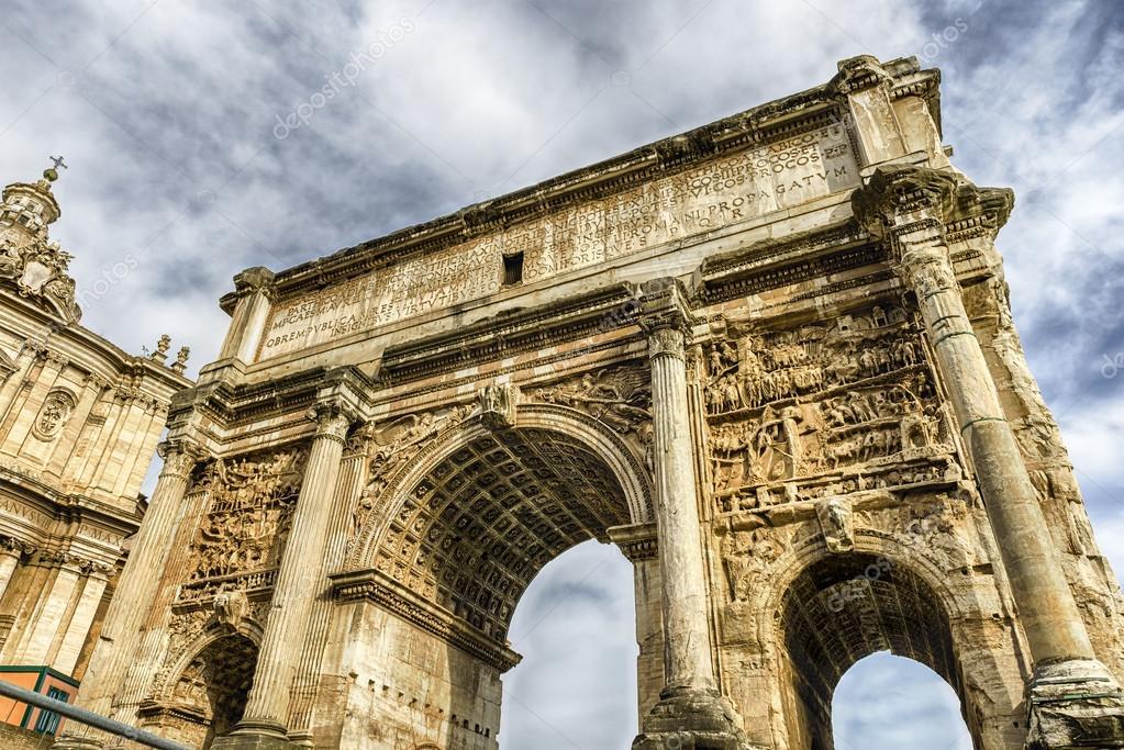 Septimius Severus Triomfboog in Rome