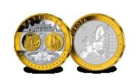Herdenkingsmunt, Eerbetoon aan de eerste massief gouden euro van Vaticaanstad