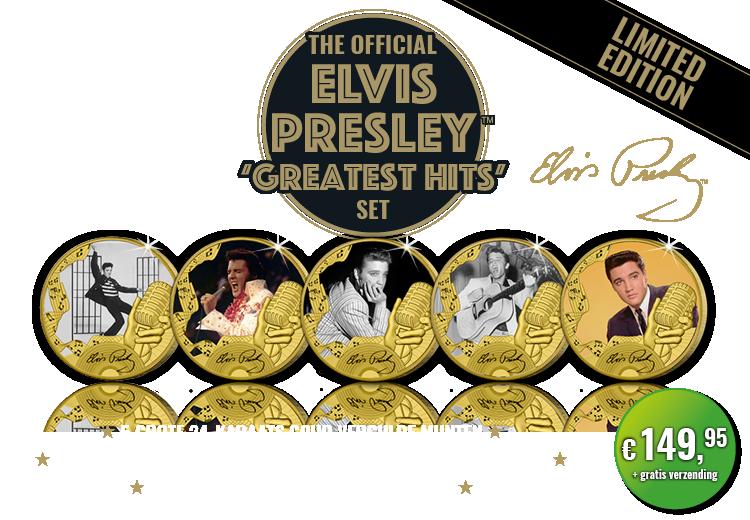 "De officiele Elvis Presley ""Greatest hits"" set"