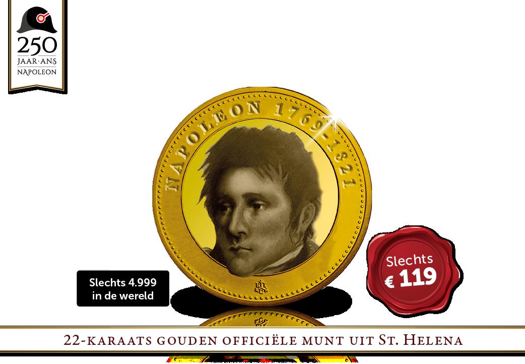Uniek | Napoleon op een Britse gouden munt!