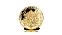 Koningin Fabiola, Massief 24-karaats gouden herdenkingsuitgifte