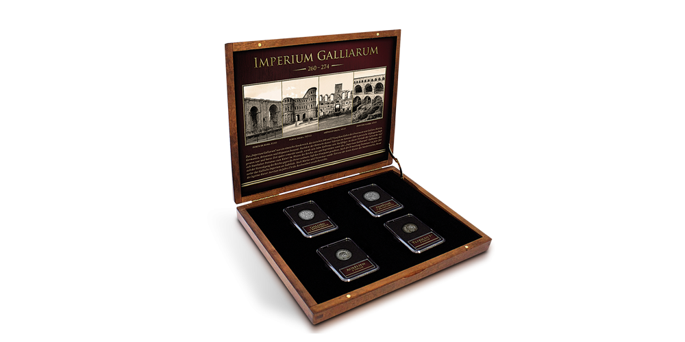 Koop munten online - Historische munten - Gallic Empire Set box