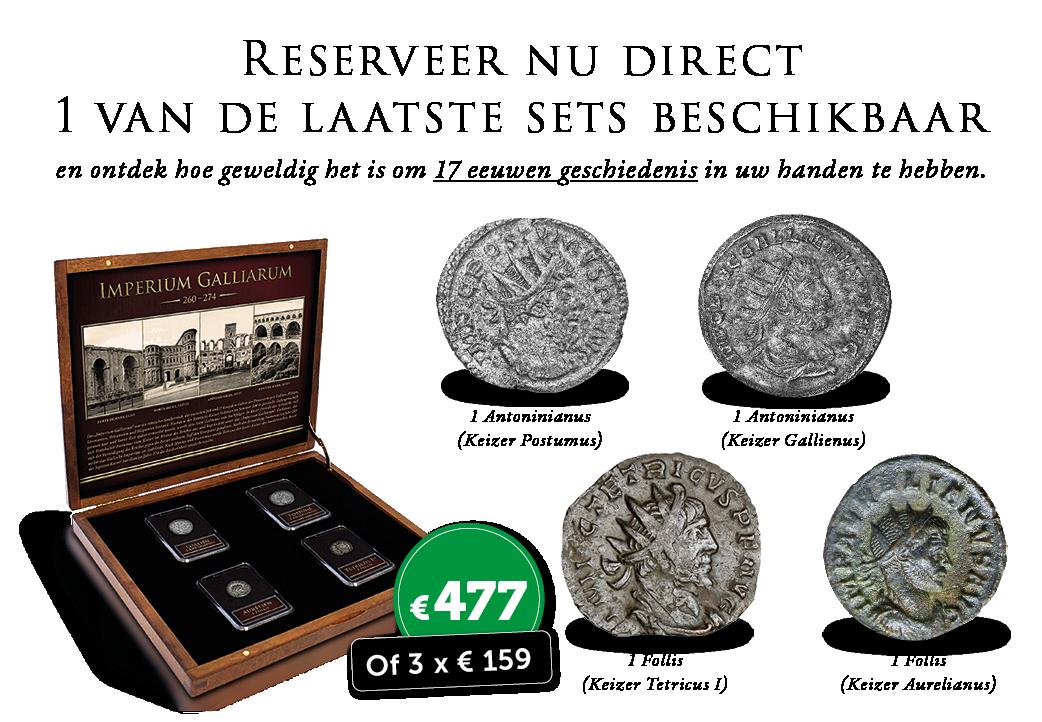 1.700 jaar oud Belgisch Erfgoed in uw privé-collectie? Dat kan vandaag!