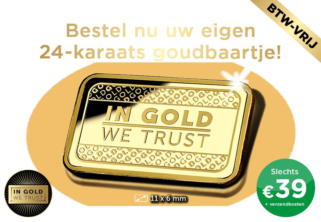 Bestel vandaag uw eigen 24-karaats goudbaartje!