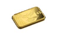 Koop munten online - Goudbaar - Vredesgoudbaar - BTW-vrij voorzijde