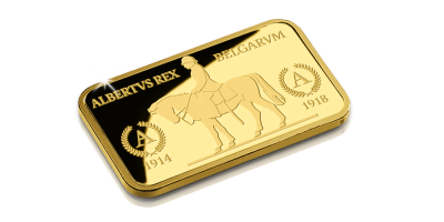 In Gold we Trust - Koning-Ridder Albert I