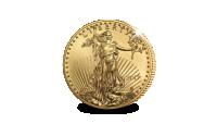 Legendarische Gouden Eagle munt in Proof kwaliteit, 3,4 gram massief 22-karaats goud
