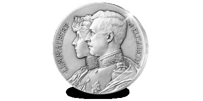 Dé exclusieve heruitgave van het Officiële Staats dubbelportret uit 1910!