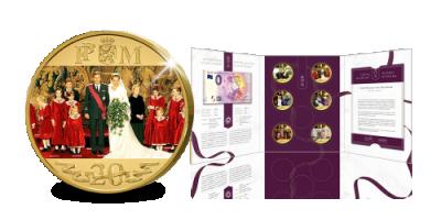 Uw set Herdenkingsuitgiften ter ere van het 20-jarig Huwelijk van Filip & Mathilde