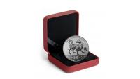 Chinese sterrenbeeld van 2018, De Hond, Puur zilveren munt