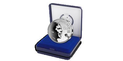 Uw 10 Euro 2018 Jacques Brel in massief zilver