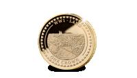 Herdenkingsmunt, De primeur van de tank herdacht met een Limited Edition munt