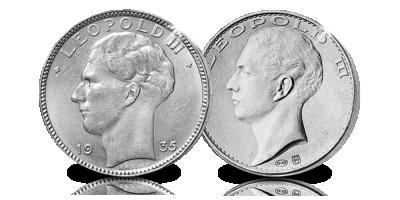 De 20 Franken van Leopold III in zilver, eindelijk in 1 set