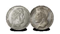 Herdenkingsmunt, Leopold I Louis Philippe, 1832-1849 1832-1848, zilveren munt