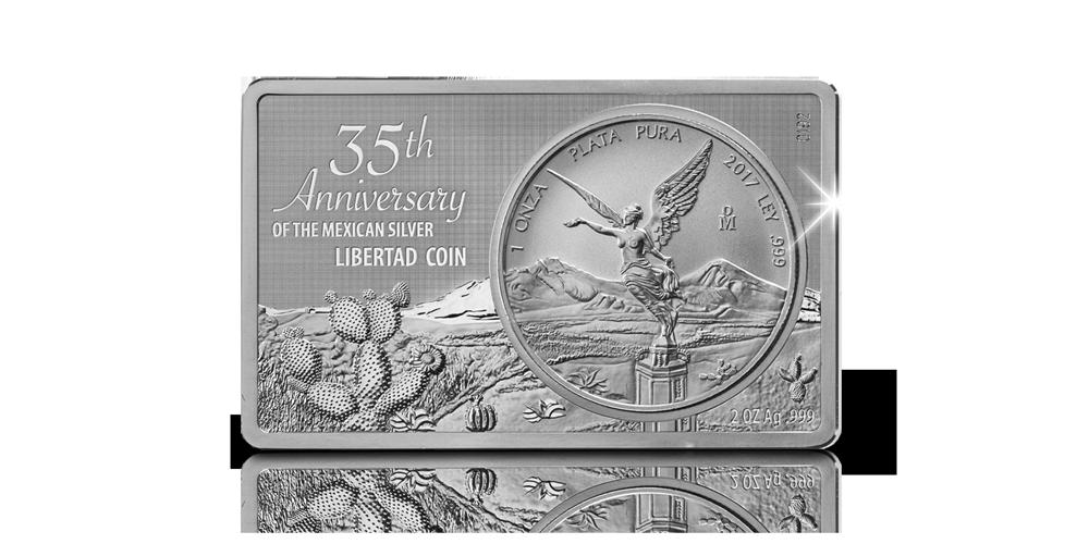 Libertad, Limited edition, 35ste Verjaardag, Puur zilver