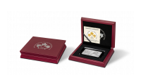 Herdenkingsmunt, Maple leaf, coinbar, puur zilver, 30 jarig jubileum
