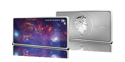 Prachtig en gedetailleerd: onze Melkweg op grote zilver-baar!