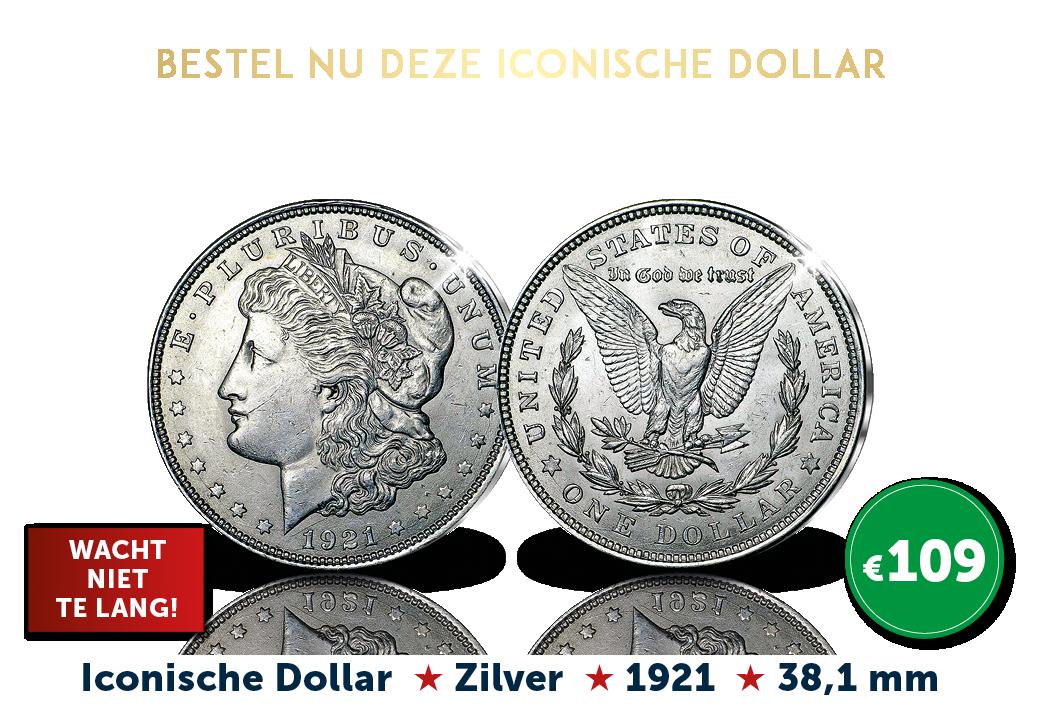 De laatste zilveren Morgan Dollar