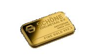 Goudbaar, btw-vrij, bombardement op Morstel, 5 gram puur goud