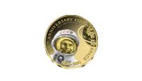 Set van 2 gouden munten ter ere van 60 jaar ruimtevaart