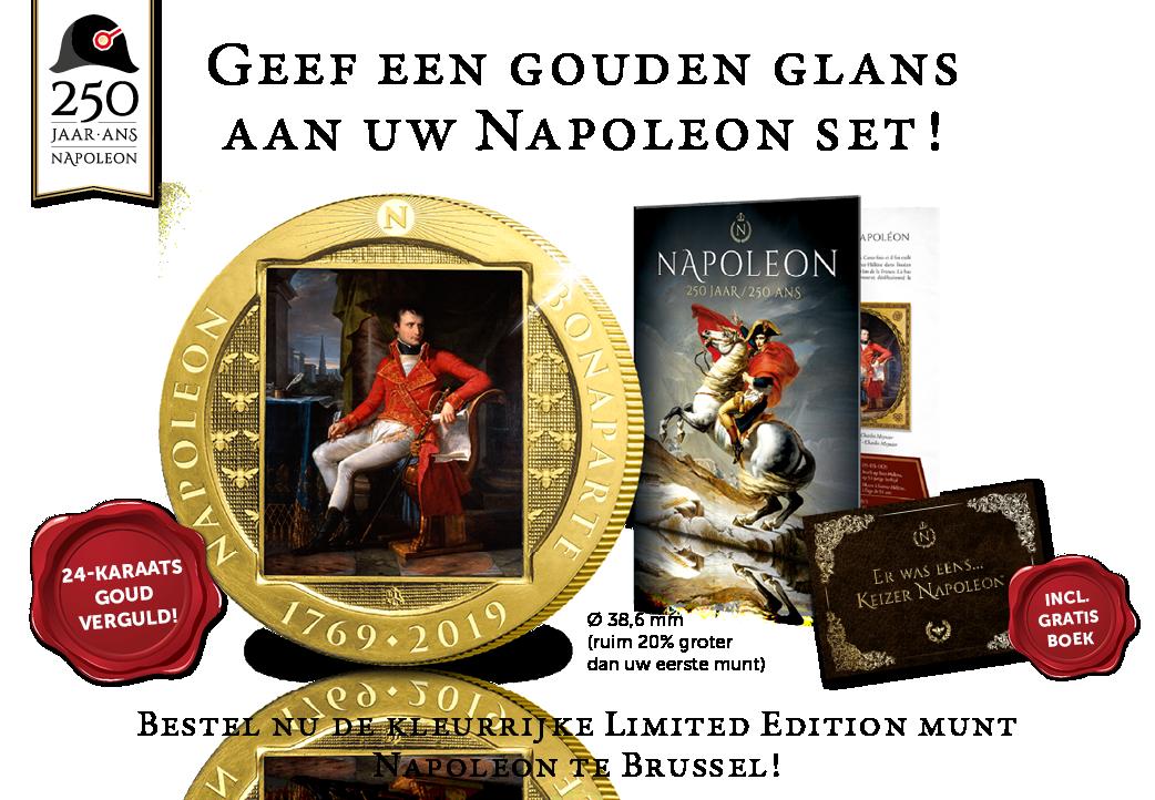 Maak uw Napoleon-set compleet!