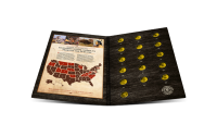 Complete set van 15 Officiële Dollarmunten! Native American Quarters packset
