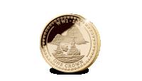 Herdenkingsmunt, Britse vlaggenschepen van de Royal Navy op Officiële munt