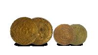 Gents Noodgeld uit de Eerste Wereldoorlog 1 en 5 frank