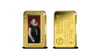 puur gouden baar Aartshertog Albrecht