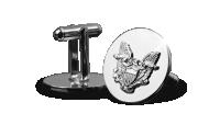 Silver eagle manchetknopen