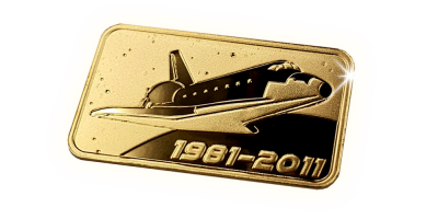 In Gold we Trust- Space Shuttle