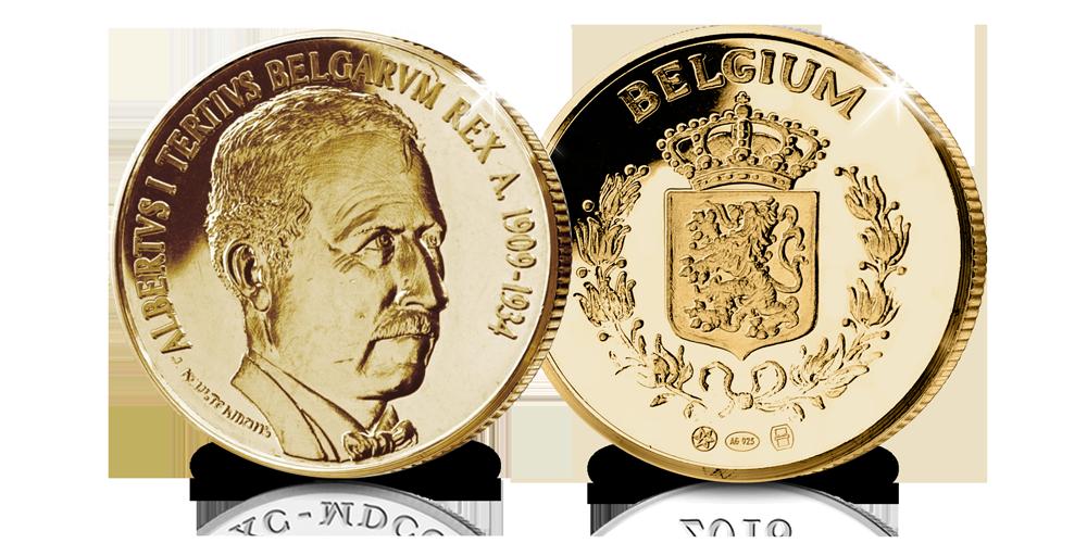 Albert I, gouden herdenkingsuitfite, Belgische koningshuis