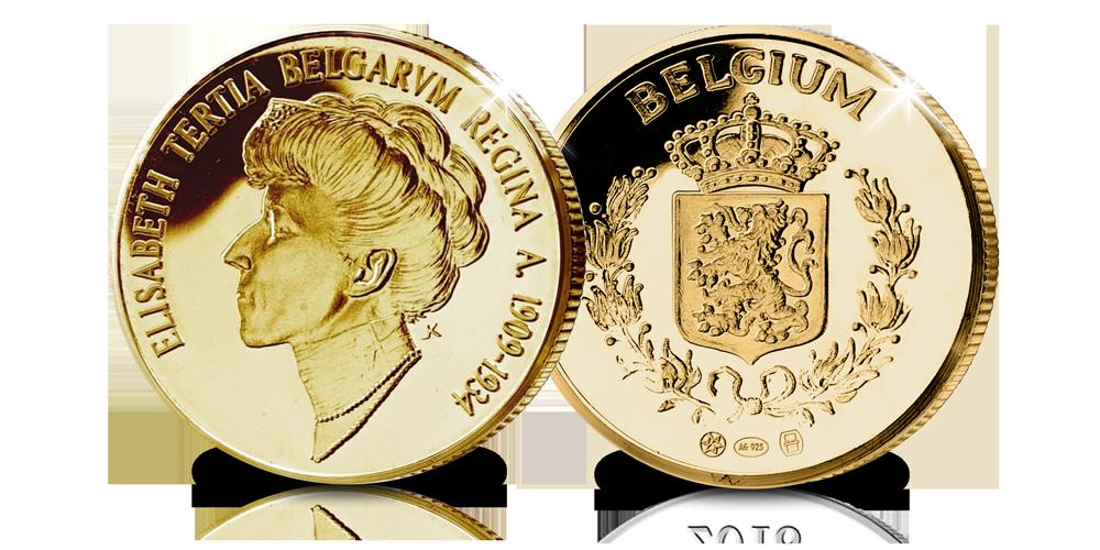 Elisabeth, gouden herdenkingsuitfite, Belgische koningshuis